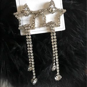 NWT Dangling STAR earrings
